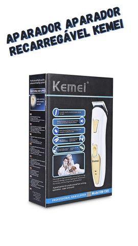 Aparador aparador recarregável Kemei  - Foto 4
