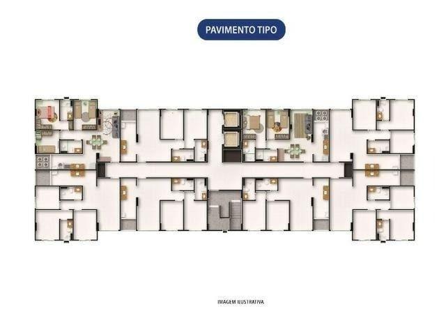 DM - Lançamento na Imbiribeira, 2 ou 3 quartos, condomínio club lazer completo - Foto 10