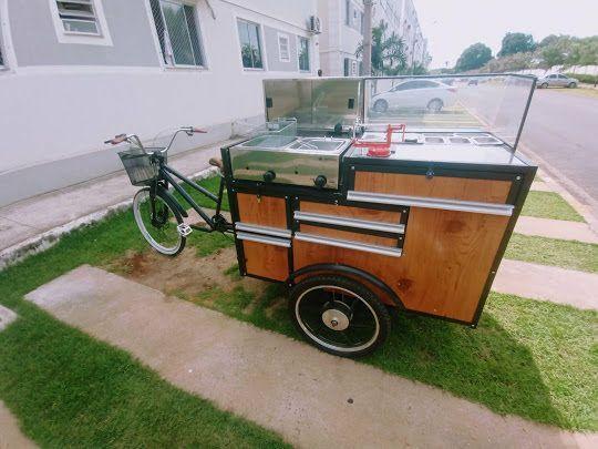 Fast food carrinho de batata frita da pra montar outros tipo de comida tambem aceito troca - Foto 3