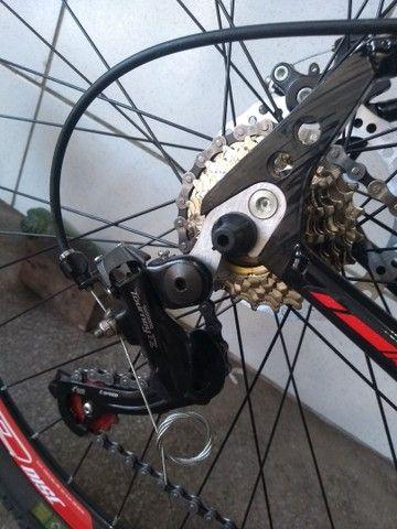 Bicicleta aro 29 de alumínio com rolamento Nova - Foto 5