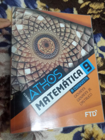 Livro de matemática 9 ano FTD