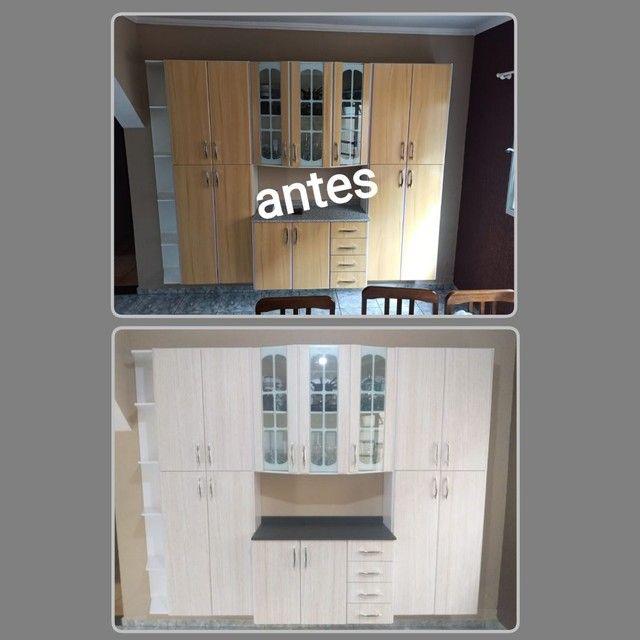 Envelopamento de armario de cozinha - Foto 5