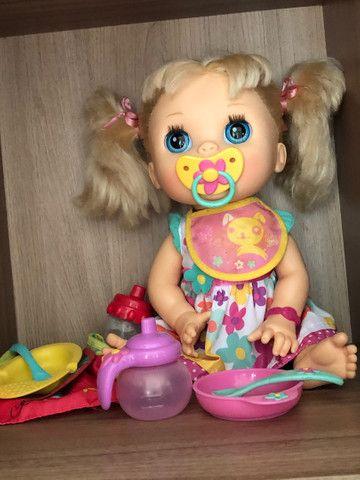Baby Alive comer e brincar - Foto 2