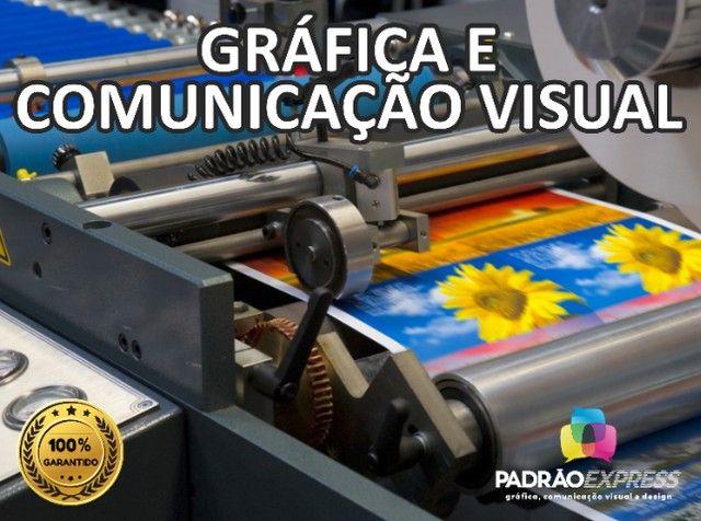Serviços Gráficos, Gráfica Offset, Gráfica Rápida, Comunicação visual e Designer. - Foto 3