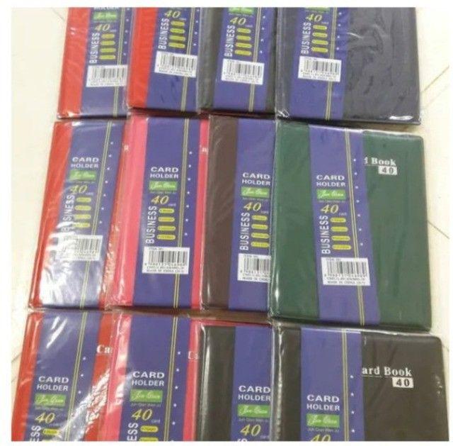 Porta Cartão Carteira Card Book 16 -7 Unidades - Foto 5