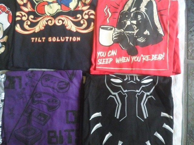camisas temas game, geek, nerd - Foto 2