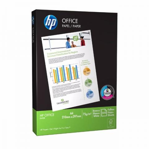 Papel A4 HP resma