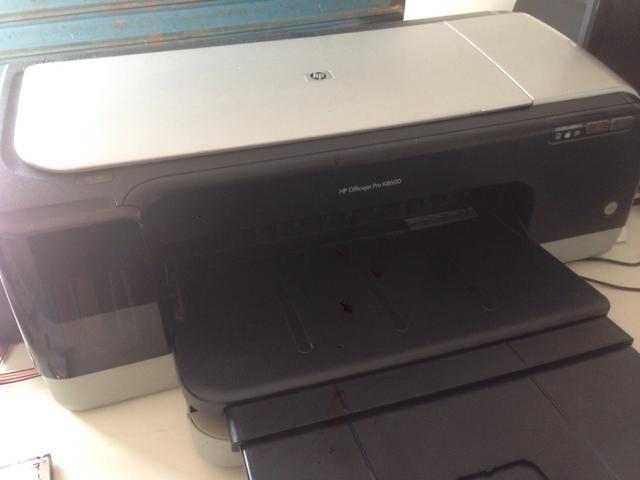Impressora A3 HP k8600 com bulk ink