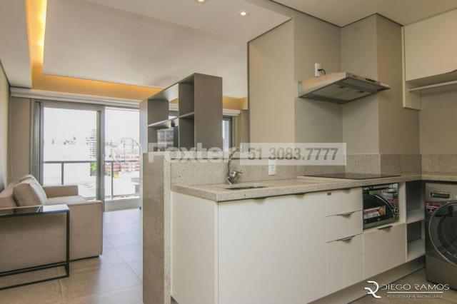Apartamento à venda com 1 dormitórios em Auxiliadora, Porto alegre cod:164024