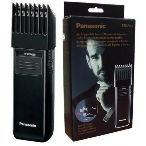 Máquina De Acabamento Barbeador E Aparador De Barba Panasonic Er 389k 127v