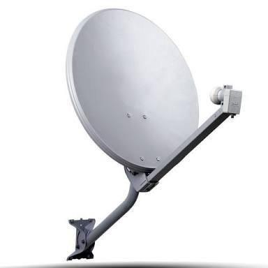 Antena Ku Lnb Universal Duplo + 10 Metros Fio + 02 Conectores