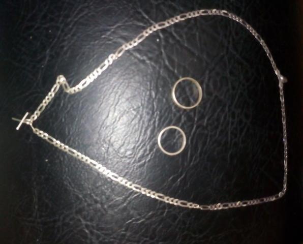 Corda de prata, novinha