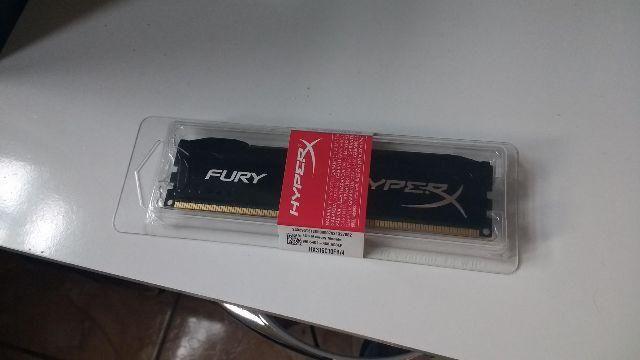 Memória ram ddr3 Fury HyperX 4gb