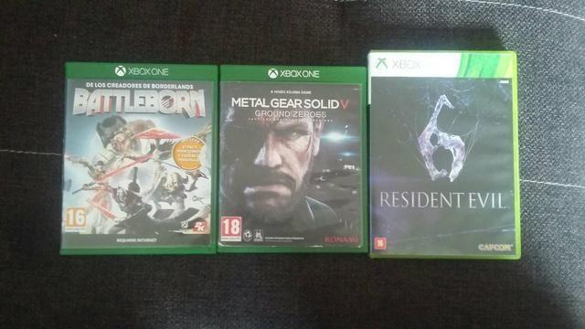 BattleBorn,Metal Gear Solid V e Resident Evil 6
