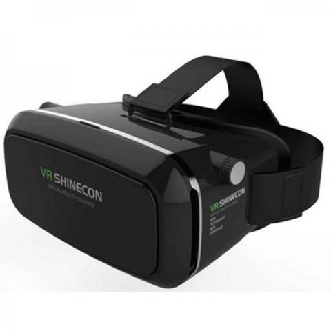 Oculos de realidade virtual 3D Shinecon com controle - Original lacrado