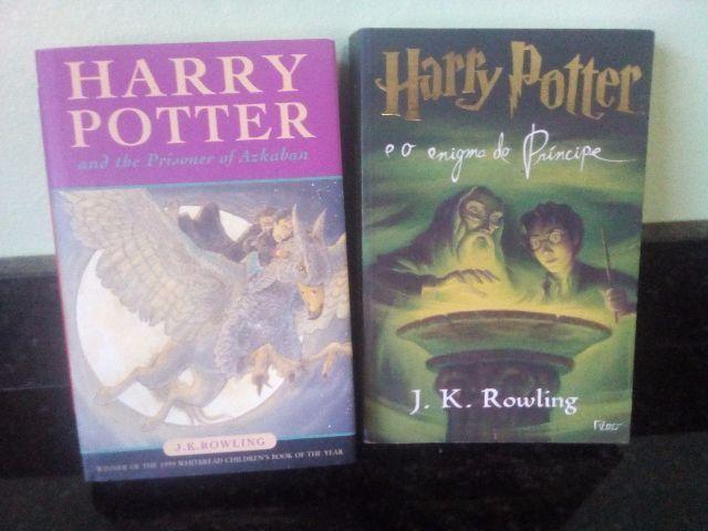Harry potter - dois livros