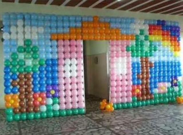 Painel Mágico para balões transparente