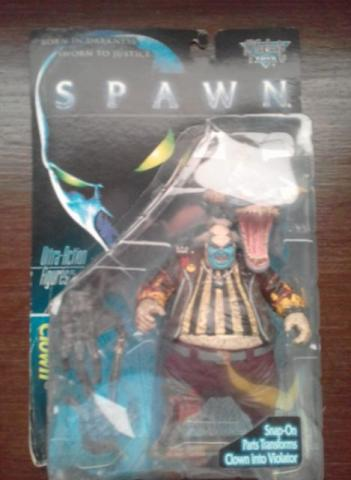 Spawn The Movie - Clown Raro - Mcfarlane Toys 1997