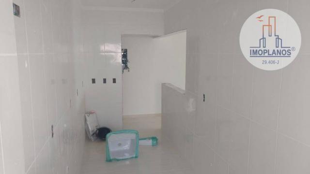 Apartamento com 2 dormitórios à venda, 72 m² por r$ 322.000 - canto do forte - praia grand - Foto 7