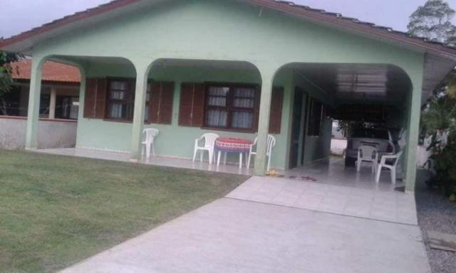 Casa de praia/usada para venda em itapoá, barra do sai, 3 dormitórios, 2 banheiros, 2 vaga