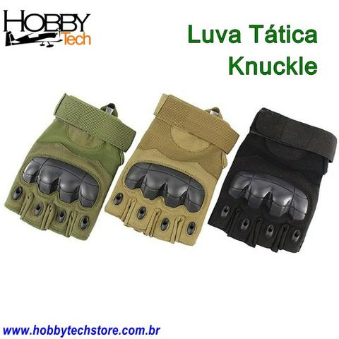 Luva Tática Knuckle Tela Sencível ou Sem Dedo - Novas - Foto 5
