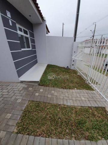 Casa com 2 dormitórios à venda, 36 m² por r$ 155.000,00 - ganchinho - curitiba/pr - Foto 10