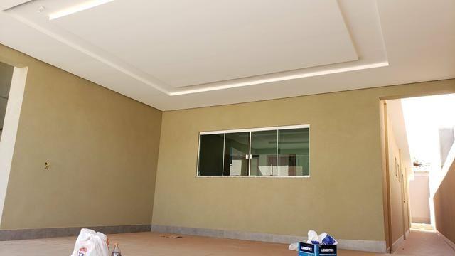 Casa nova 3quartos 3suites piscina churrasqueira rua5 Vicente Pires - Foto 4