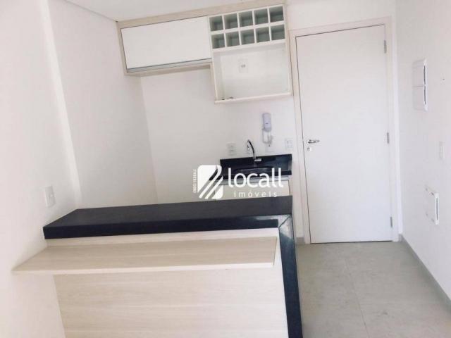 Apartamento para alugar por R$ 1.600/mês - Jardim Panorama - São José do Rio Preto/SP - Foto 2