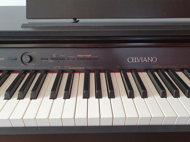 Piano Digital Casio Celviano AP 260 BK Preto c/ Banqueta + Fonte + Livros de lições - Foto 4