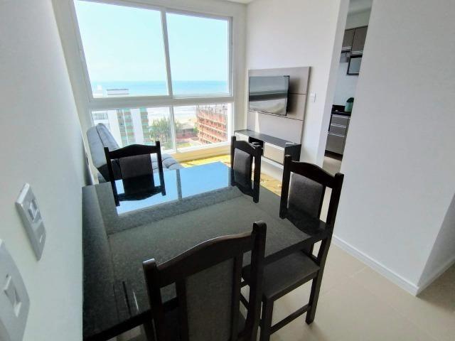 Disponível reveillon - virada, linda vista mar e serra, edifício novo, split - Foto 5