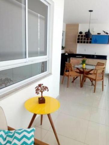 Murano Imobiliária aluga apartamento de 3 mobiliado quartos na Praia da Costa, Vila Velha  - Foto 2