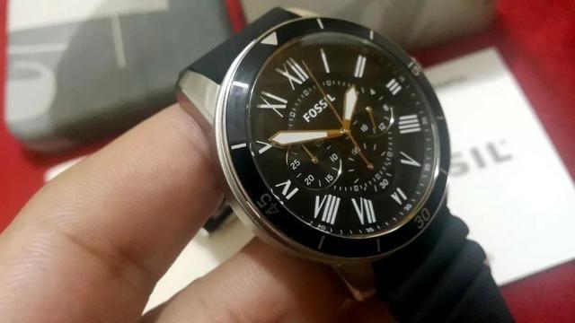 1114c20c3ce Relógio Fossil Grant Sport Preto Cronógrafo Casual Quartz ...