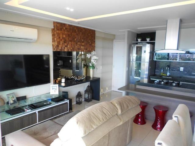 Apartamento no Allegro 14º andar, todo projetado, 3 quartos, 2 vagas - Foto 3