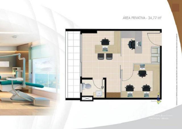 Vende-se sala comercial no Uno Medical Center - Foto 11
