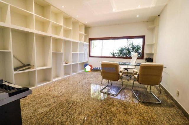 Sobrado com 4 dormitórios à venda, 638 m² por R$ 3.199.000,00 - Residencial Granville - Go - Foto 14