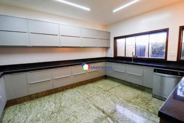 Sobrado com 4 dormitórios à venda, 638 m² por R$ 3.199.000,00 - Residencial Granville - Go - Foto 17