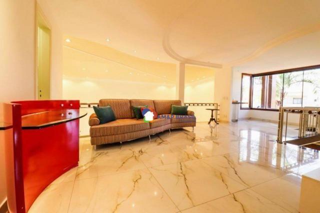 Sobrado com 4 dormitórios à venda, 638 m² por R$ 3.199.000,00 - Residencial Granville - Go - Foto 11