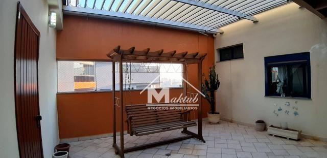 Cobertura com 4 suíte, para alugar, 395 m² por R$ 7.000/mês - Vila Valparaíso - Santo Andr - Foto 8
