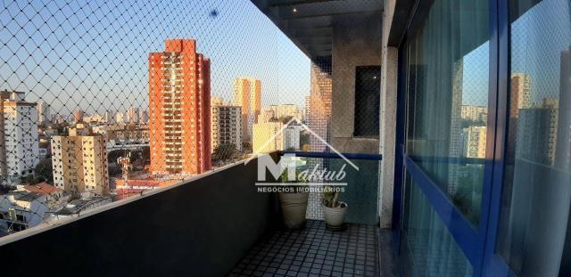 Cobertura com 4 suíte, para alugar, 395 m² por R$ 7.000/mês - Vila Valparaíso - Santo Andr - Foto 11