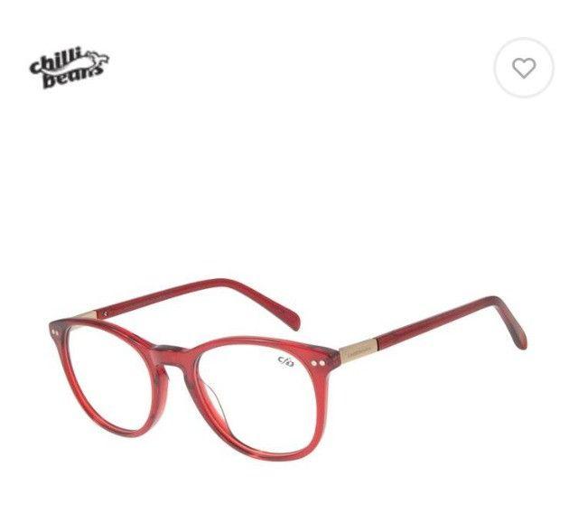 Óculos multi grau/sol vermelho - Foto 2