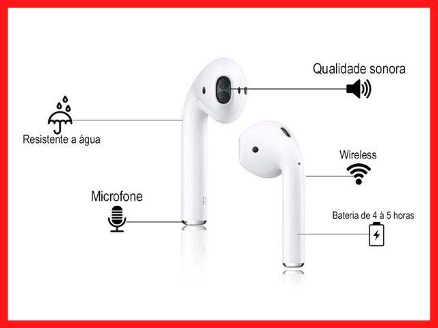 Fone de Ouvido sem fio | airphone | Fone de Ouvido Original | Fone te Ouvido - Foto 3