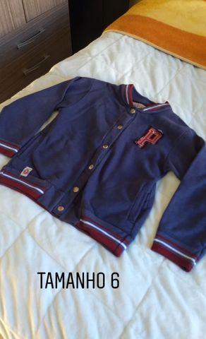 Calças camiseta e moletons de abrigo infantil menino TAM 6,8,12 e 14. Preço acessível - Foto 2