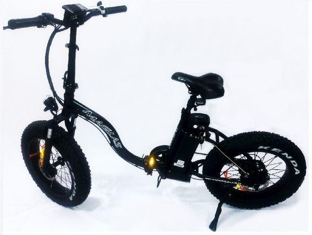 Bike elétrica dobrável