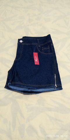 Short jeans plus size feminino