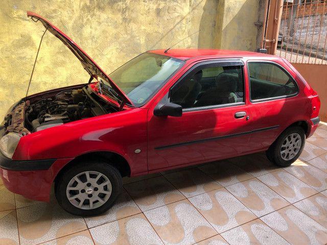 Fiesta 2001 GNV básico R$4.500k REPASSE - Foto 2