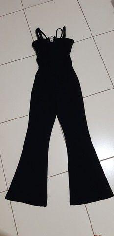 Macacão preto M