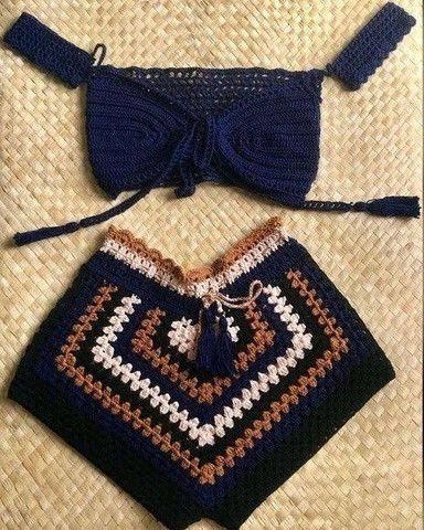 Peças feitas em croche - Foto 5