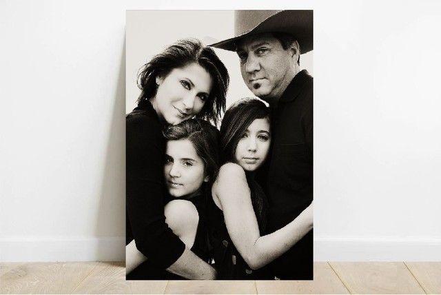 Quadro Decorativo  - Retratos de sua Família - Qualidade Digital - São Carlos - Foto 4