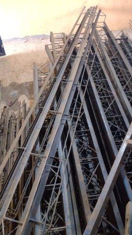 galpão /estrutura / treliça / vigas / ferro - Foto 3