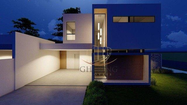 Sobrado Moderno com arquitetura exclusiva com 3 dormitórios sendo 1 suíte, à venda, 150 m² - Foto 7